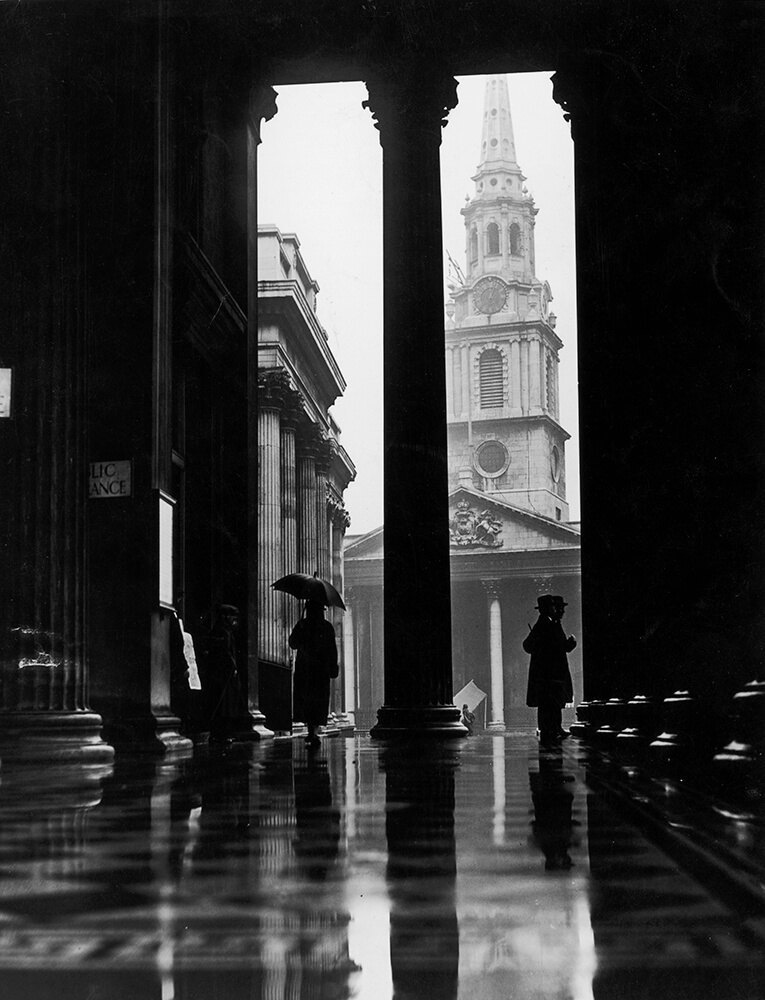 Sheltering From Rain fine art photography