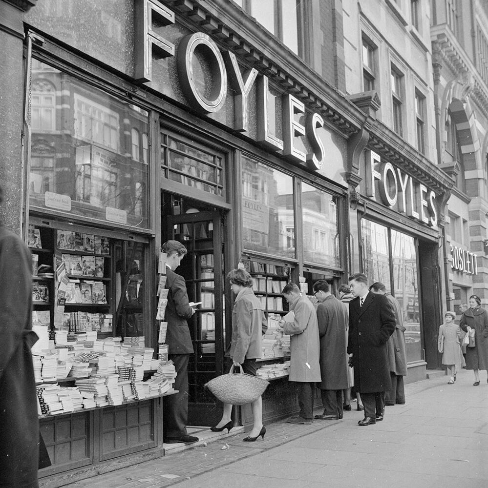 Foyles Bookshop fine art photography