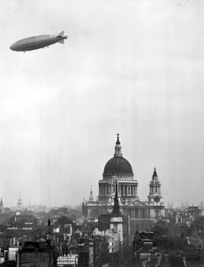 R-101 Over London