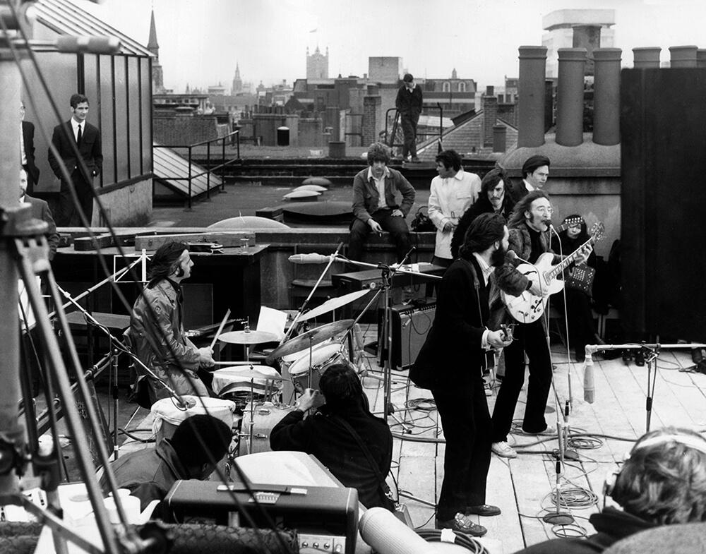 Rooftop Beatles fine art photography