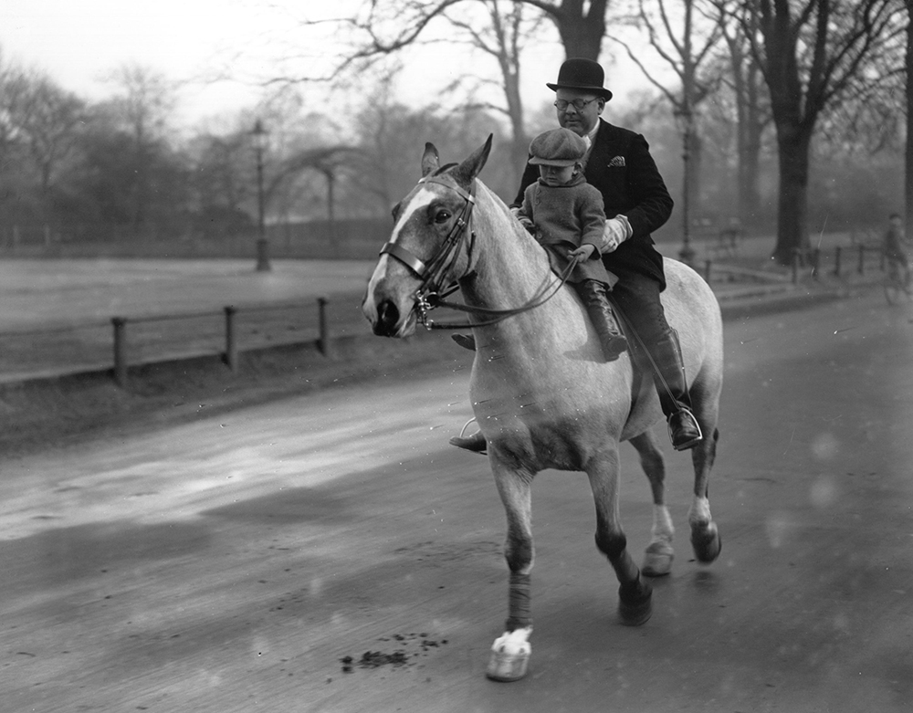 Riding In Hyde Park fine art photography