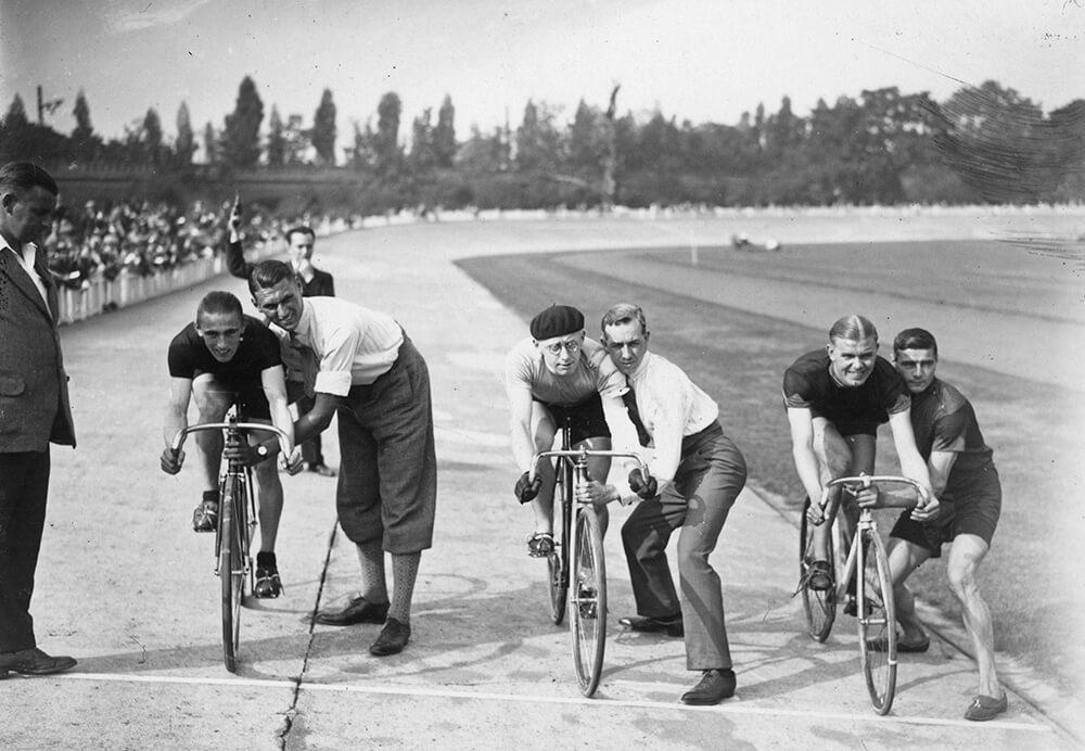 Sprint Cyclists fine art photography