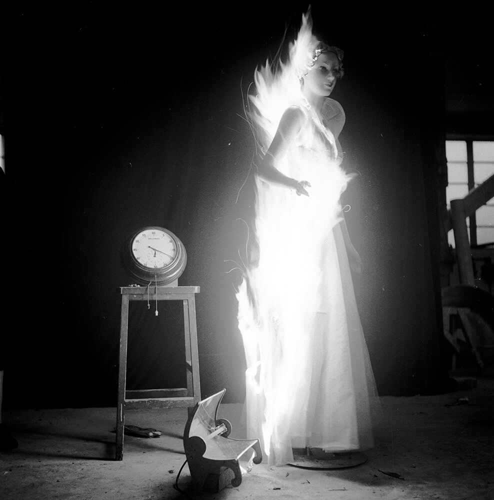 Flaming Clothes fine art photography