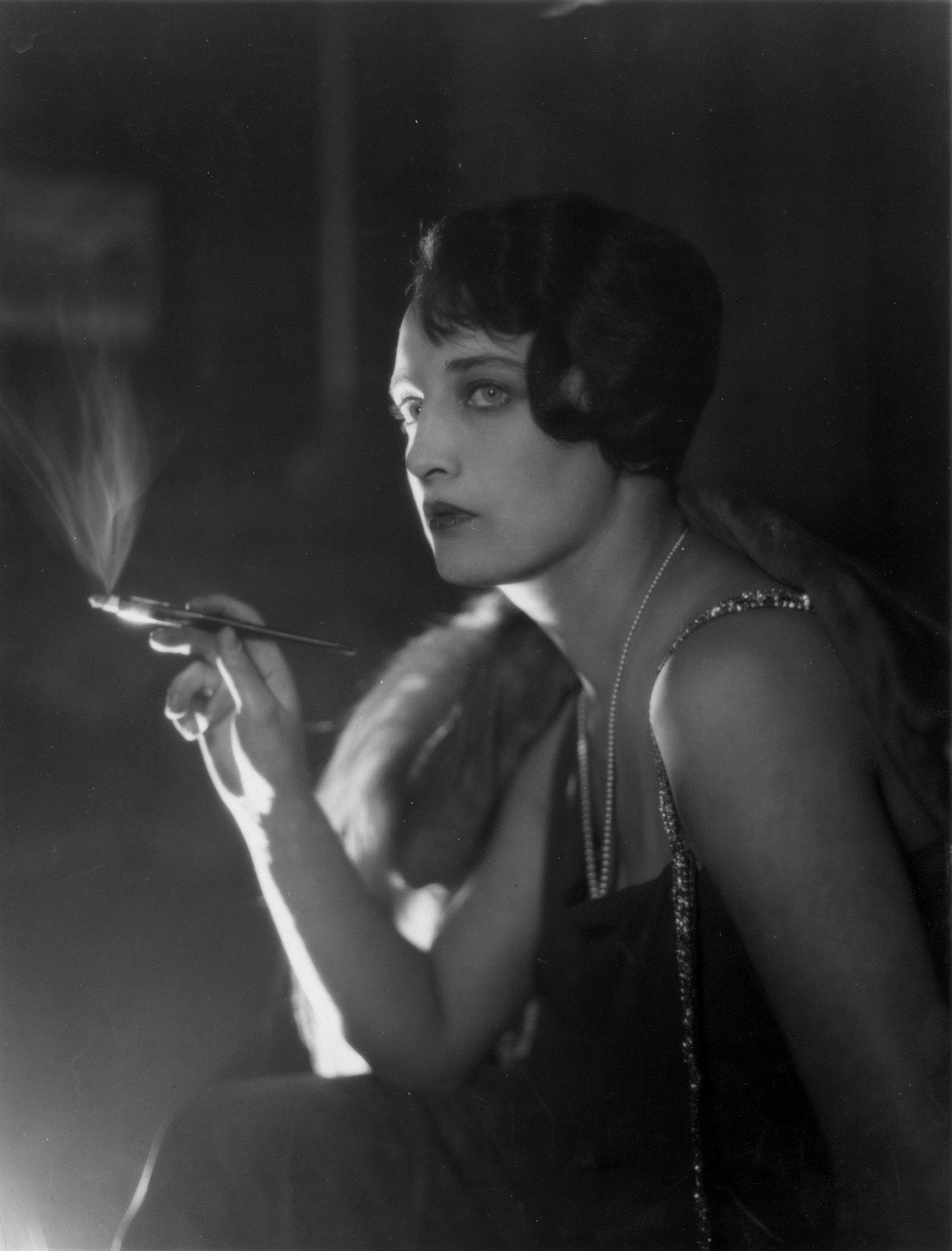 Smoking Glamour fine art photography