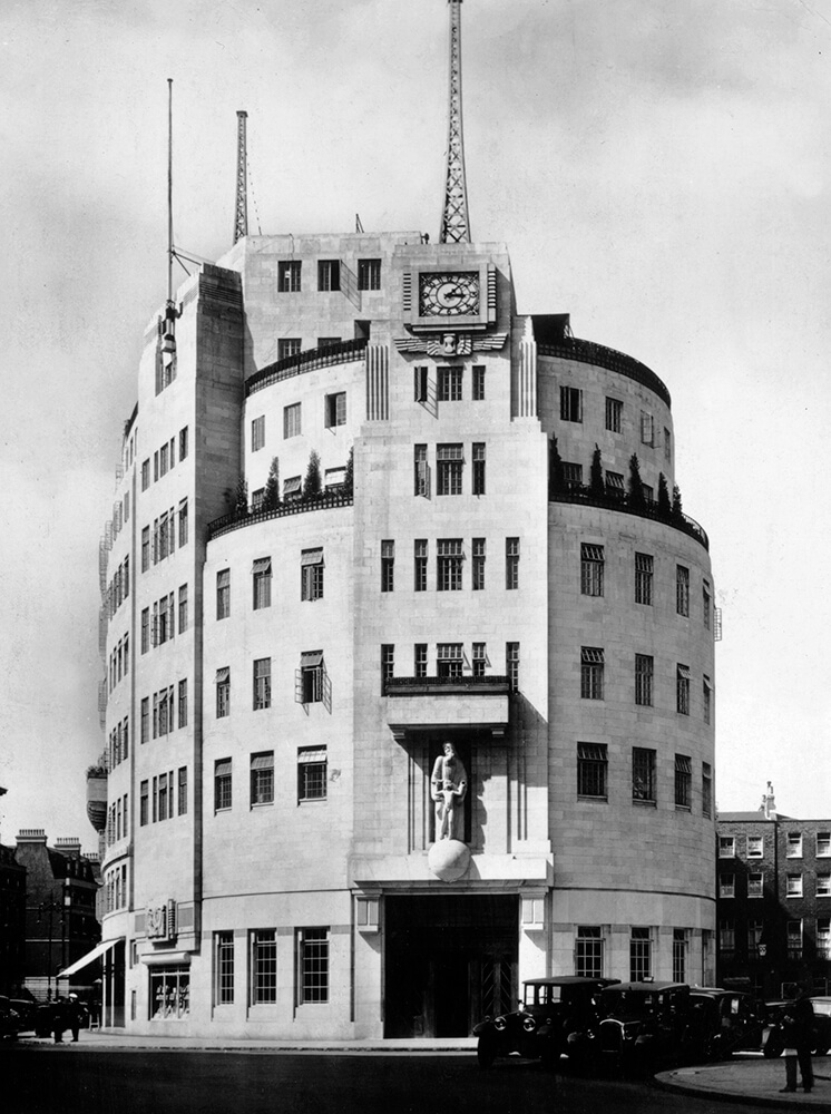 Broadcasting House fine art photography