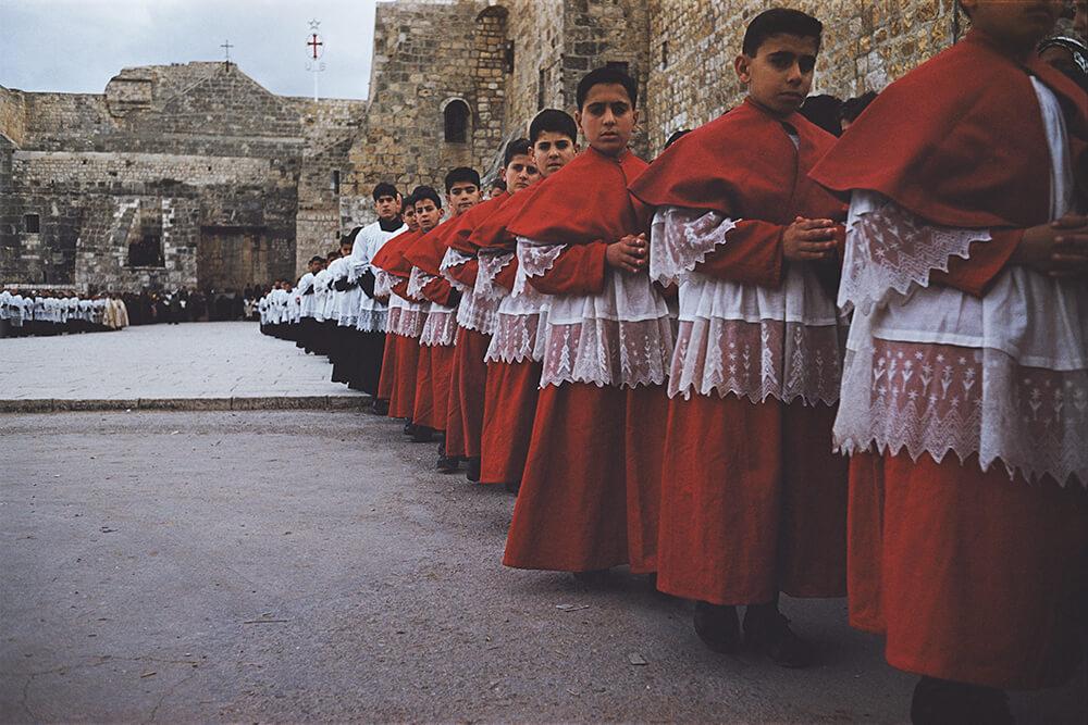 Christmas Choirboys fine art photography