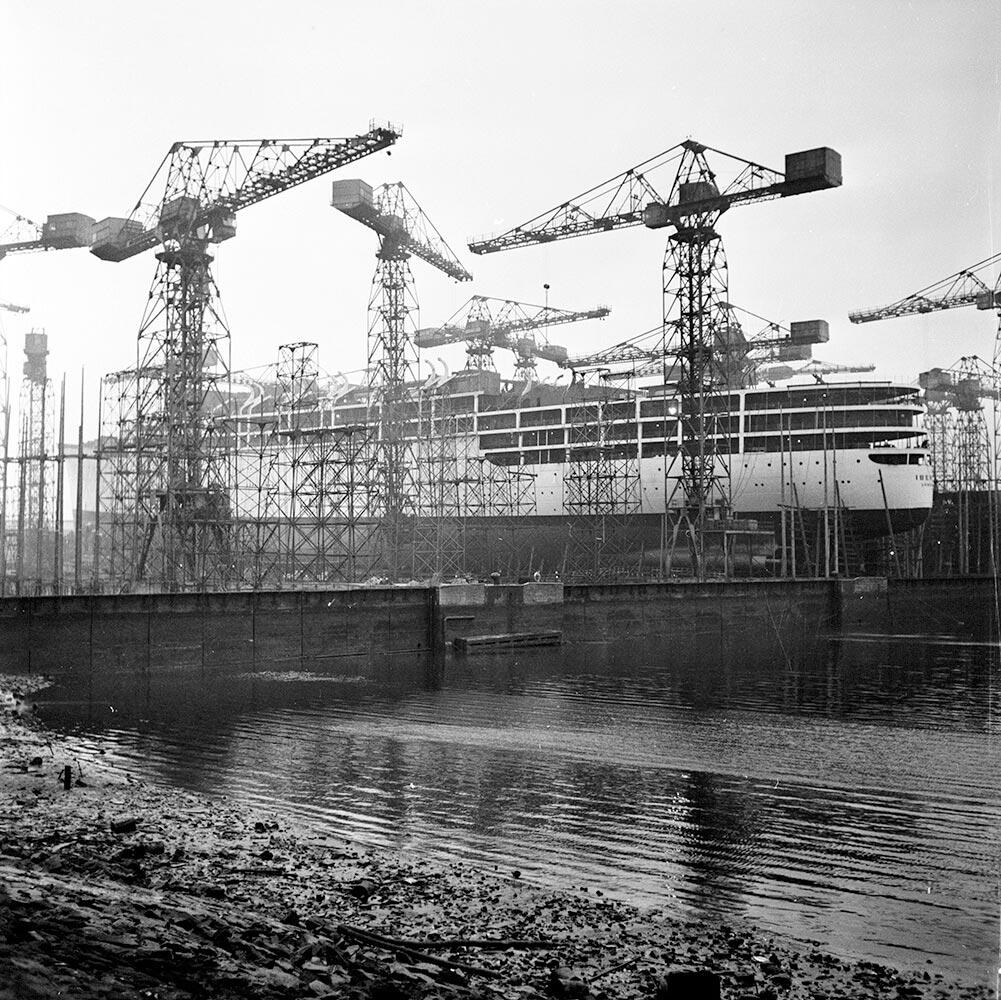 Belfast Docks fine art photography