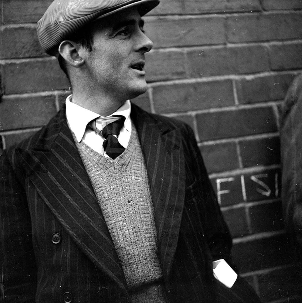 Belfast Man from Street Scenes fine art photography