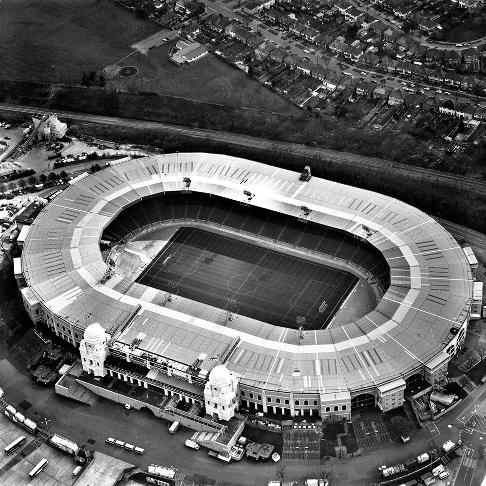 Old Wembley Stadium, London, 1999 fine art photography