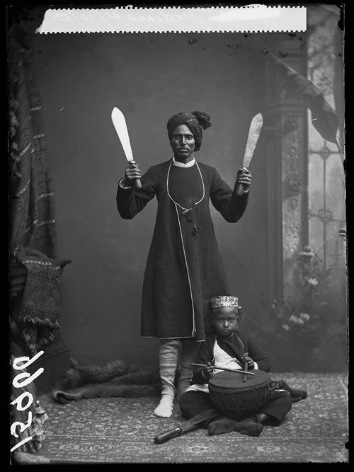 Indian Juggler fine art photography