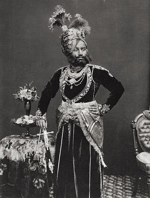 Rajah Sahib Of Rutlam fine art photography