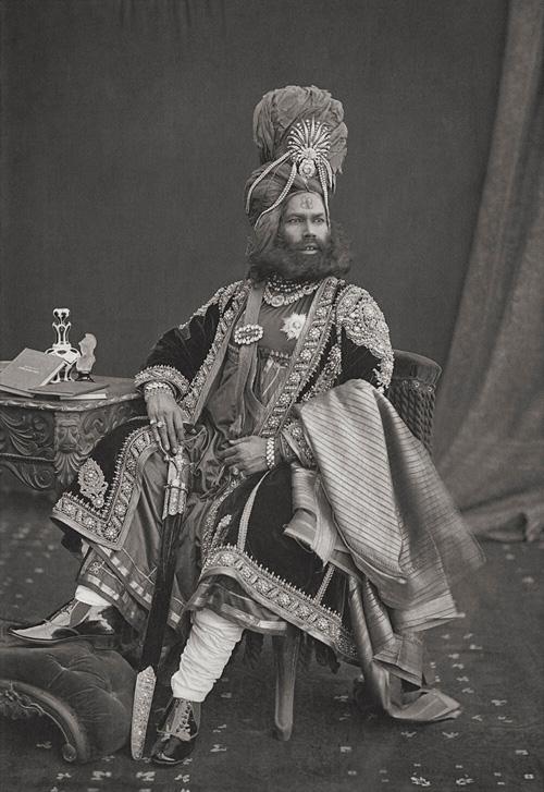 Maharaja Of Punnah fine art photography