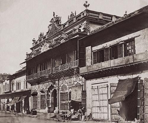 Townhouse On Chandni Chowk fine art photography