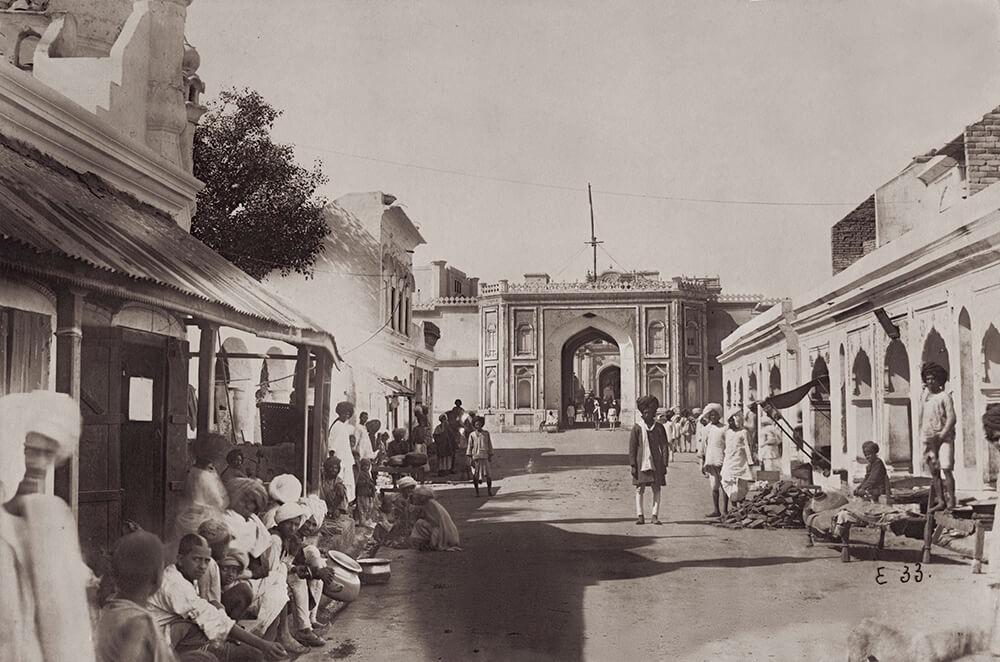 Street In Jaipur fine art photography