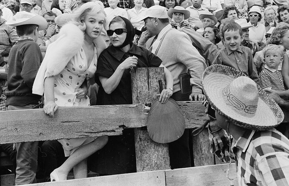 Marilyn With Paula fine art photography