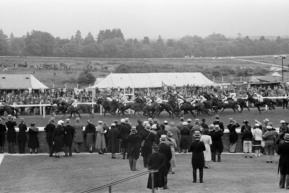 Crowds At Ascot fine art photography