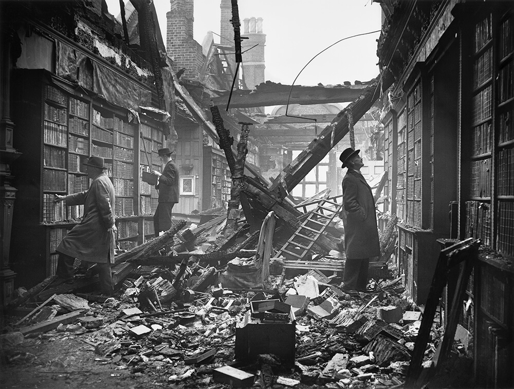 Damaged Library fine art photography