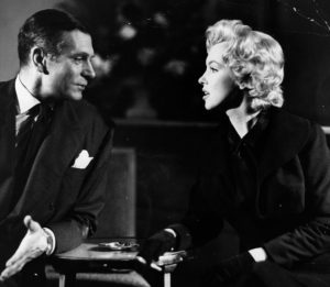 Monroe And Oliver At A Press Conference