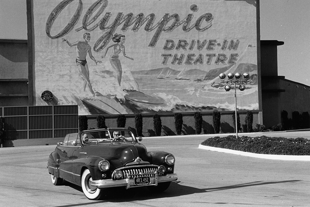 Drive-In fine art photography