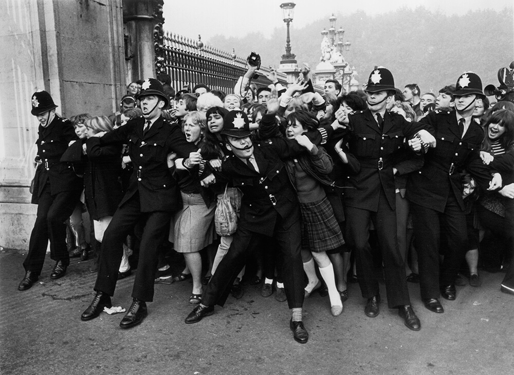 Fans Invasion from Crowds fine art photography