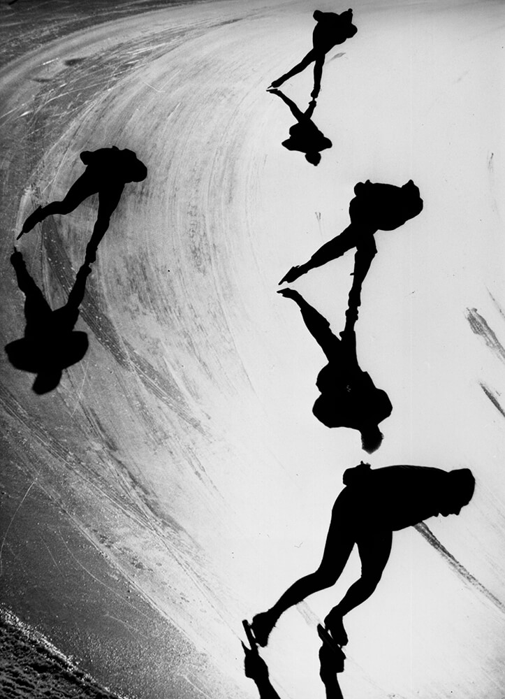 Speed Skaters fine art photography