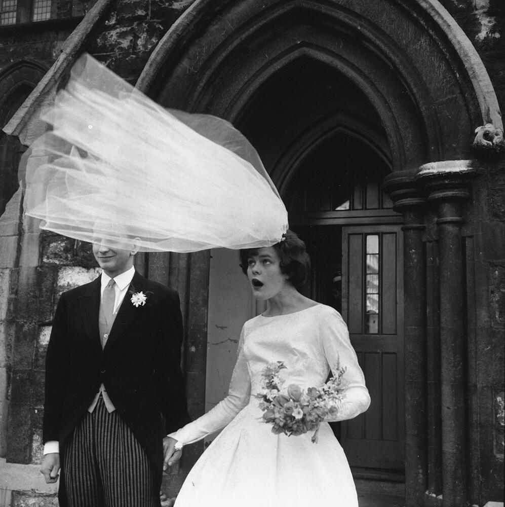 Windy Wedding fine art photography