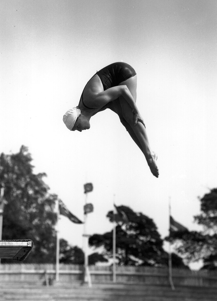 Olympic Diver fine art photography