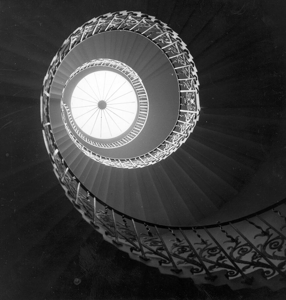 Spiral Stairwell fine art photography