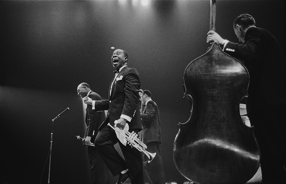 Louis Armstrong On Stage fine art photography