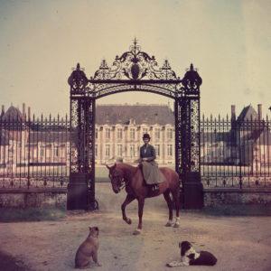 Equestrian Entrance