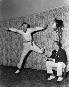 Astaire Rehearses