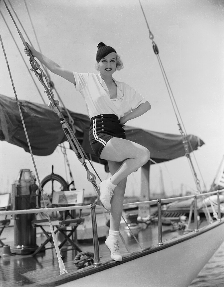 Carole Lombard fine art photography