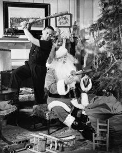 Slugg at Santa