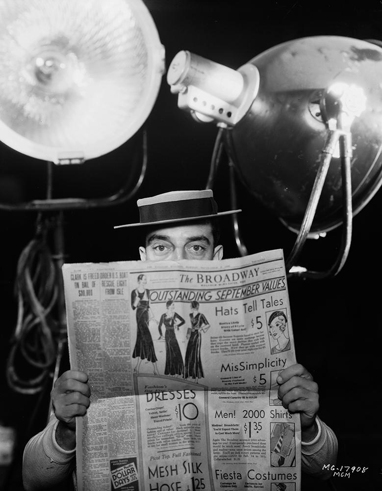 Broadway News fine art photography