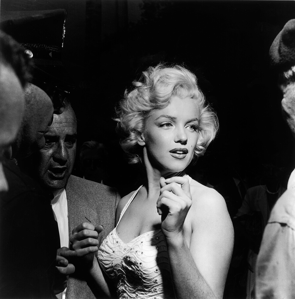 Monroe At The Hollywood Theatre fine art photography