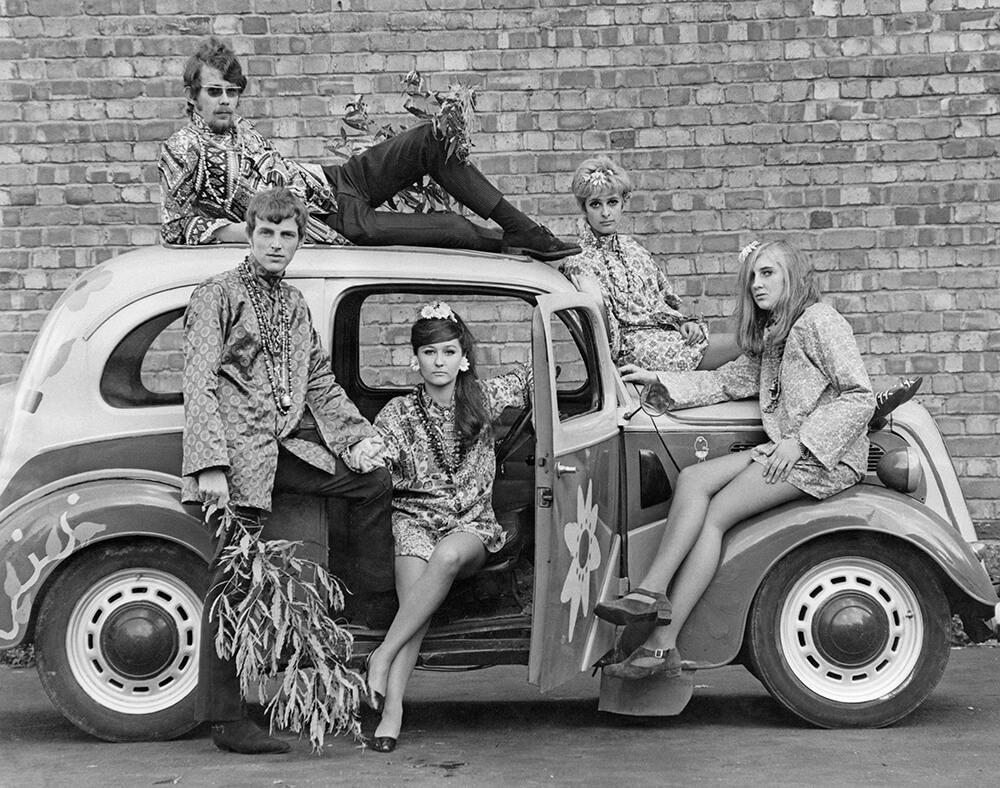 Hippiemobile fine art photography