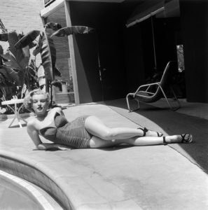 Poolside Star Marilyn Monroe