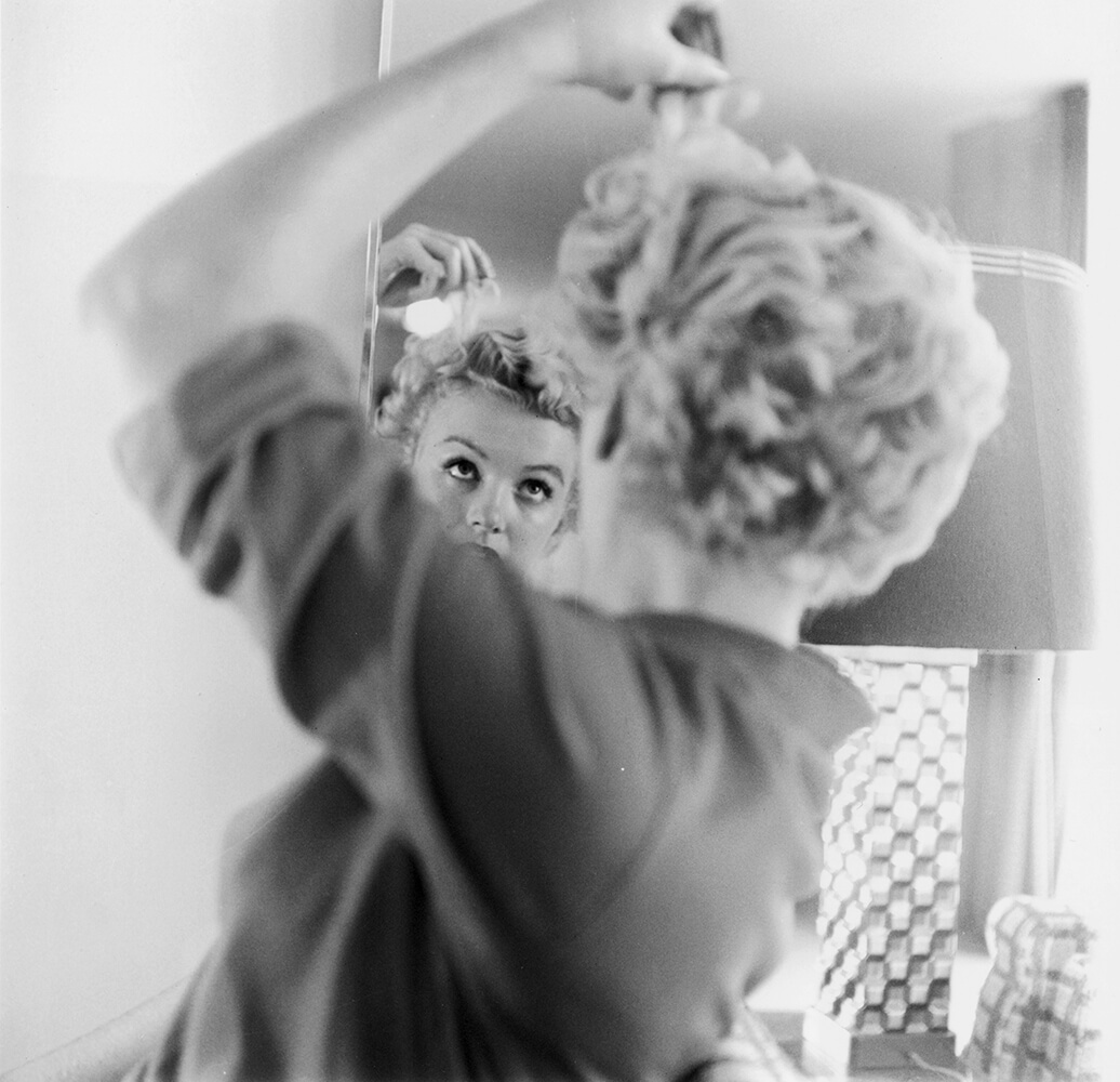 Marilyn Makes Up fine art photography