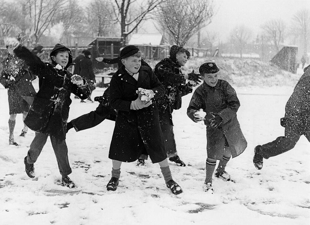 Snowballs 1958 fine art photography
