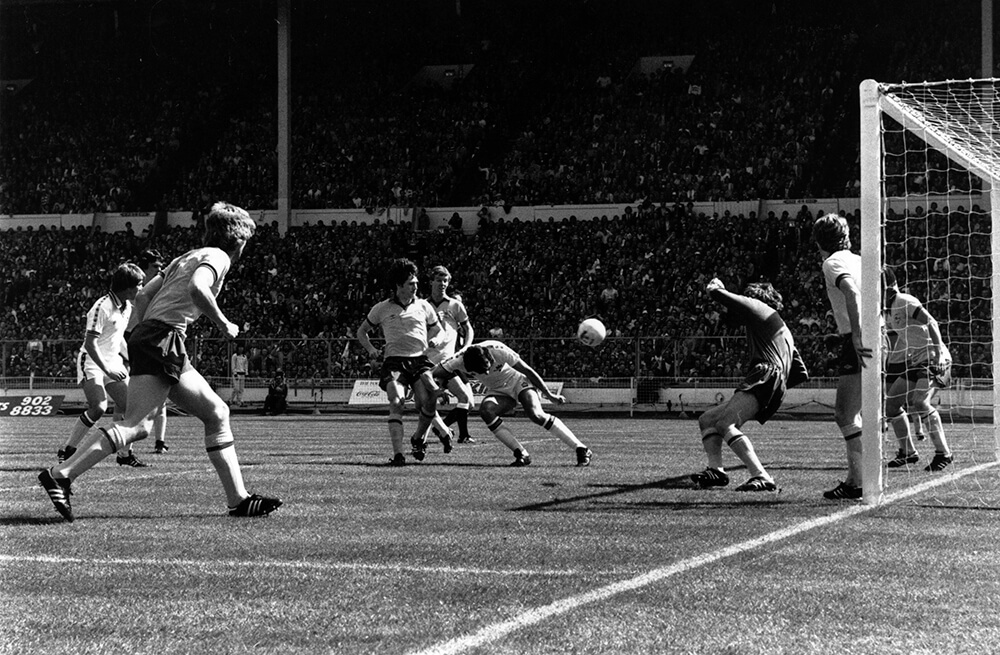 West Ham In Action fine art photography