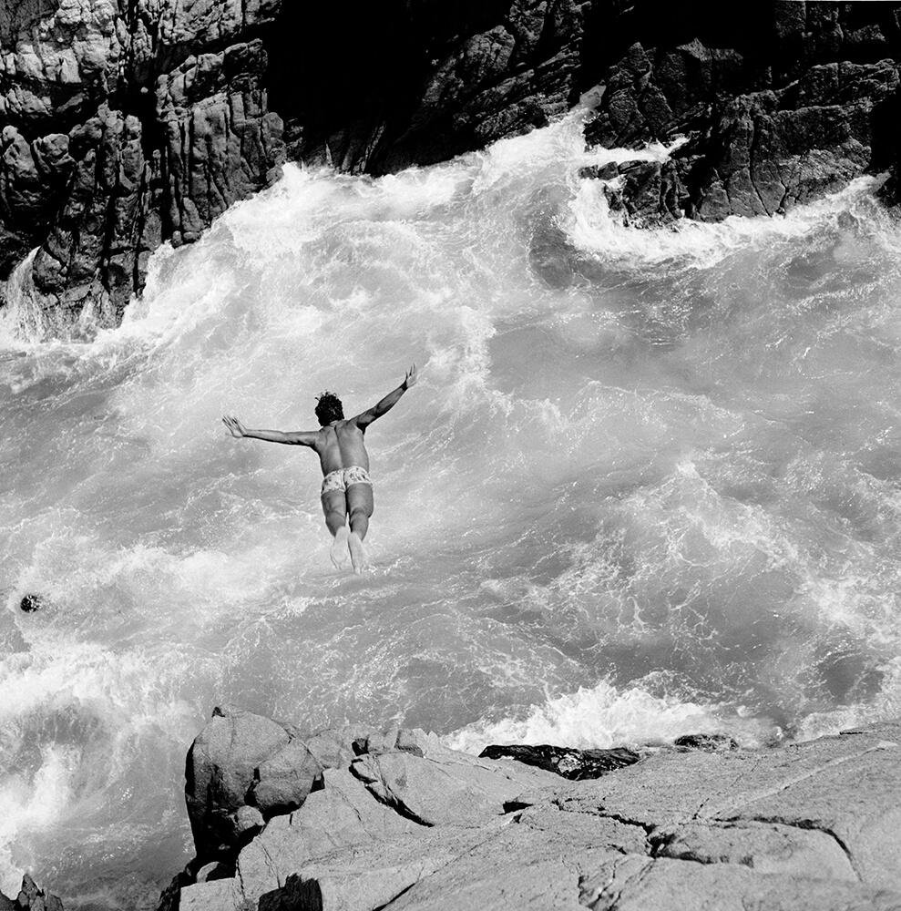 Pacific Diver fine art photography