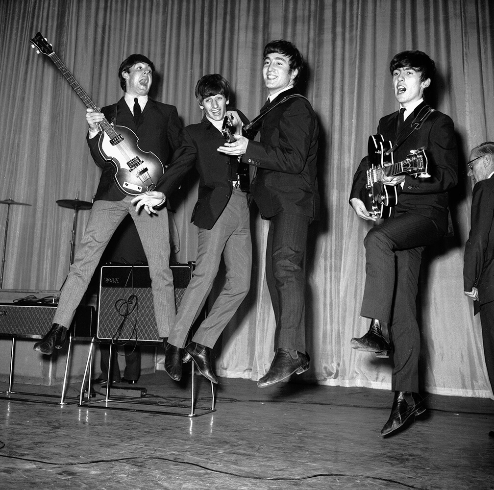 Leaping Beatles fine art photography