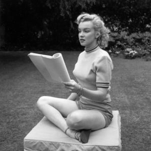 Marilyn Photo Session In Beverly Hills