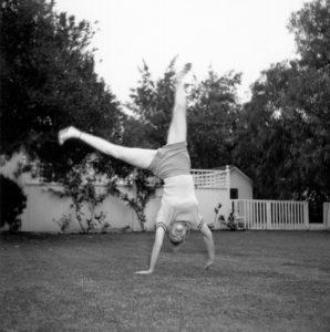 Cartwheeling Marilyn
