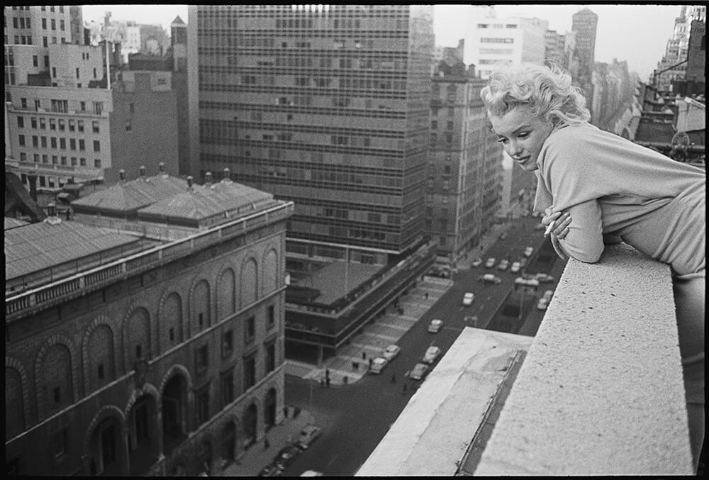 Marilyn On The Roof fine art photography