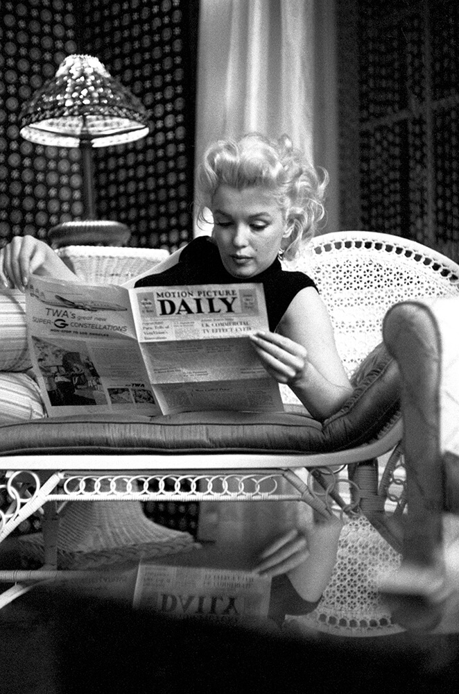 Marilyn Relaxes fine art photography