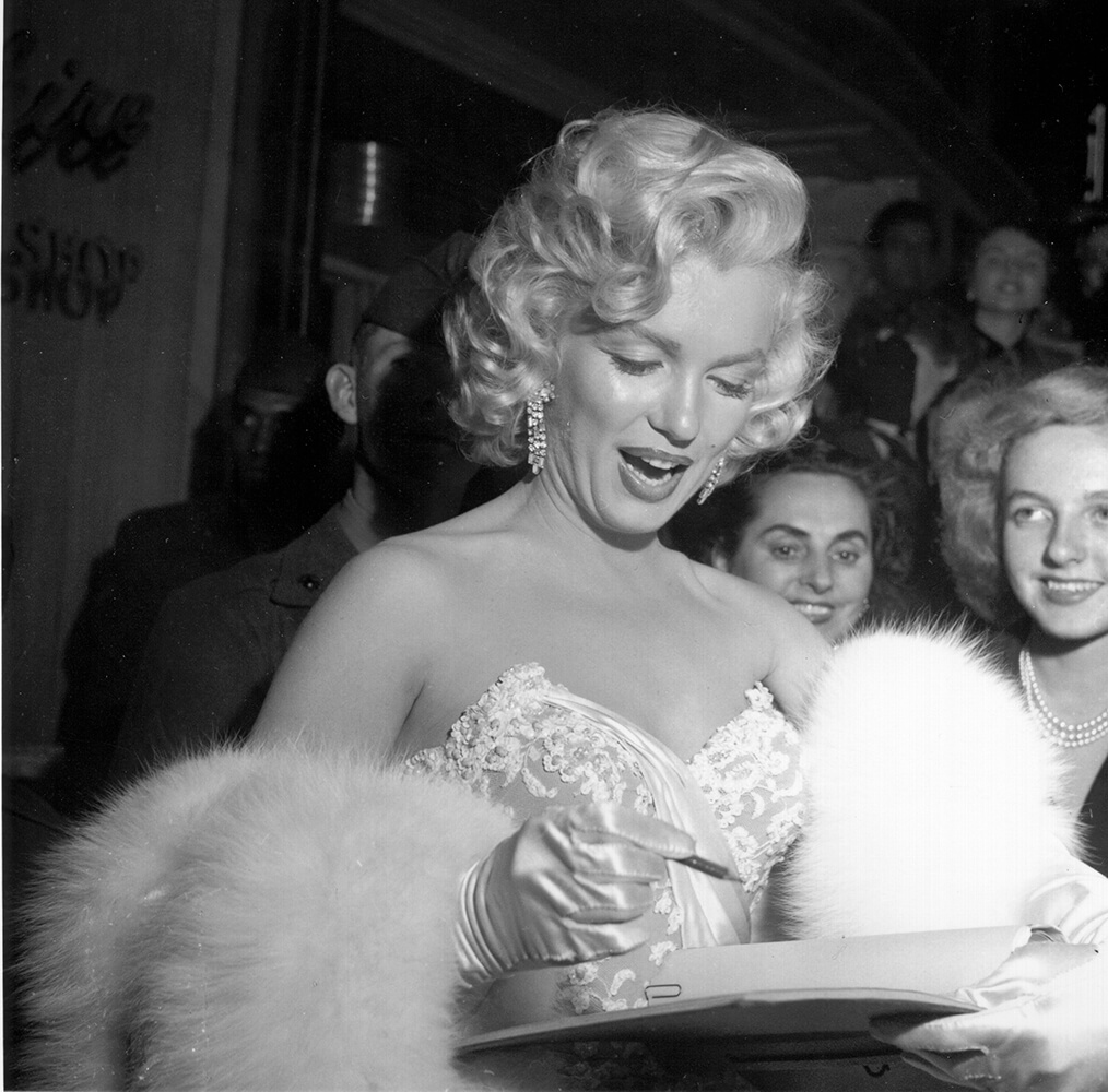 """""""How To Marry A Millionaire"""" Premiere from Marilyn Monroe fine art photography"""
