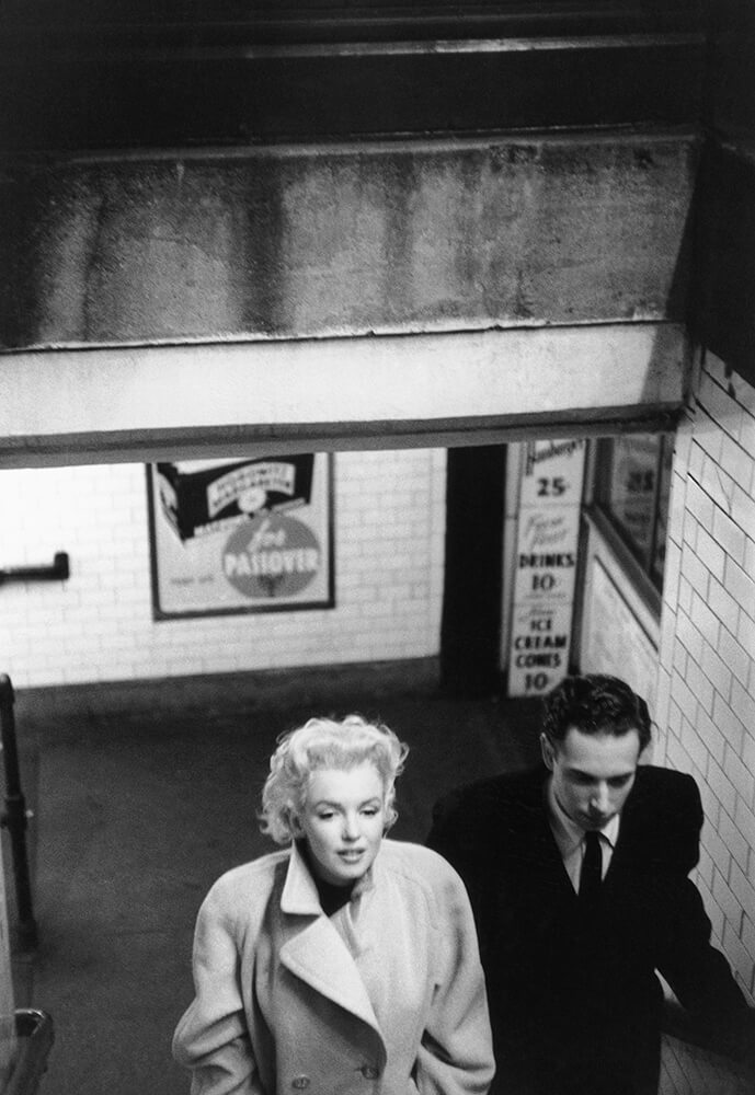 Marilyn In Grand Central Station fine art photography