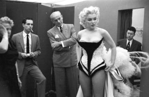 Marilyn Costume Fitting