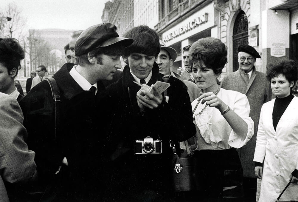 Beatles in Paris fine art photography